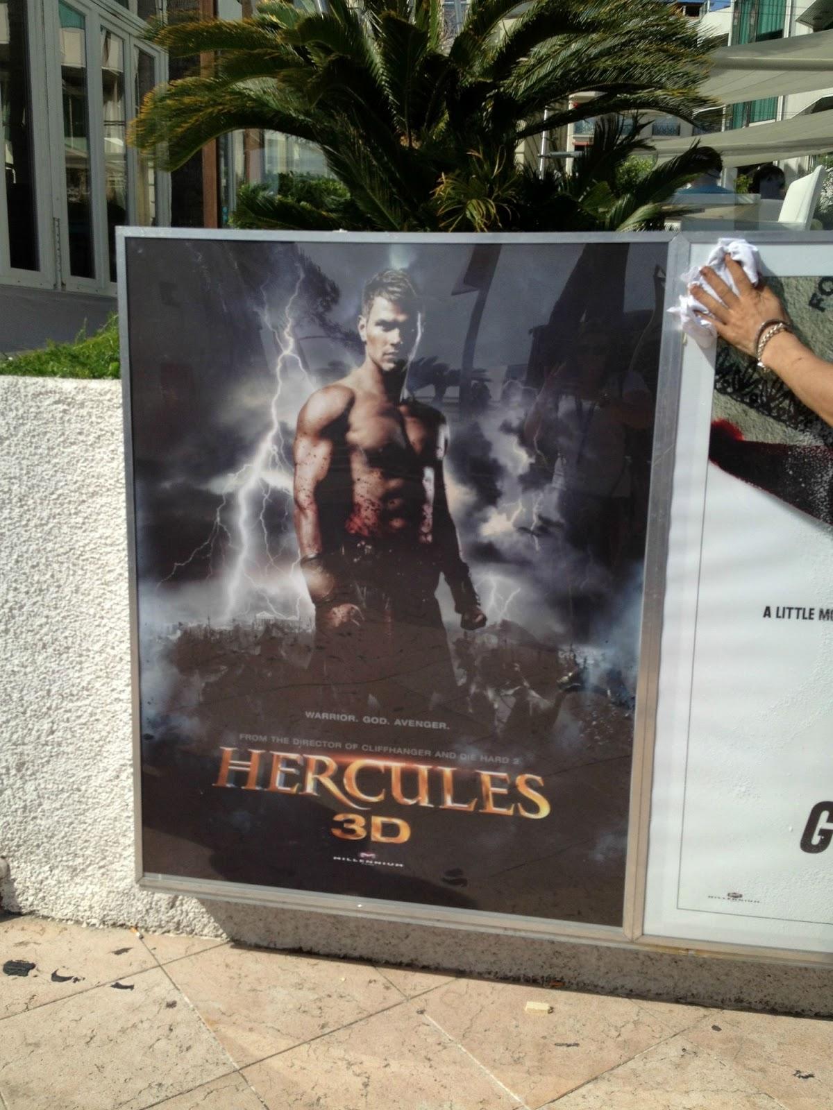 FOREVER.: Latin Banner & French Poster of Hercules 3D ... |Kellan Lutz Hercules Poster