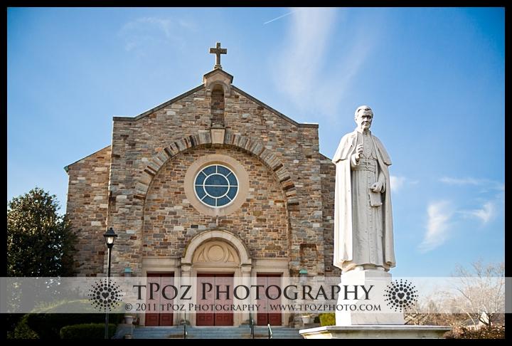 St. Pius X Towson Wedding