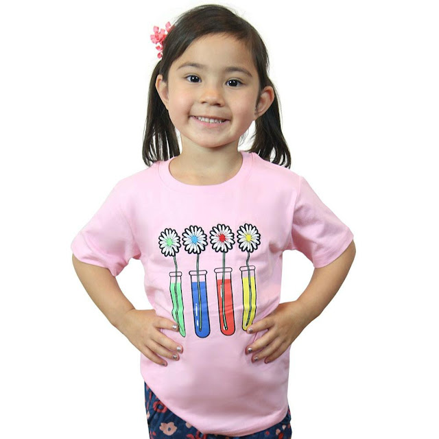 Science Experiment Girls Shirt