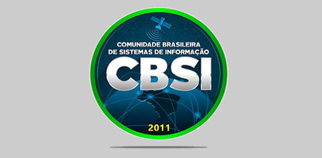 Apresentação da Comunidade Brasileira de Sistemas de Informação.