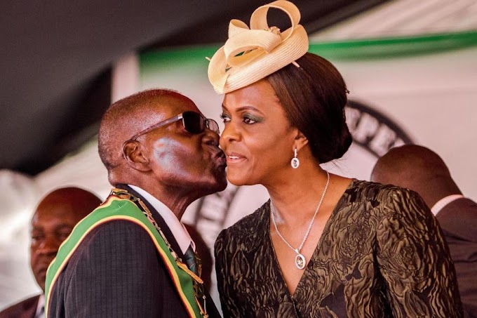 Robert Mugabe's wife Grace 'flees Zimbabwe for Namibia' after military take over
