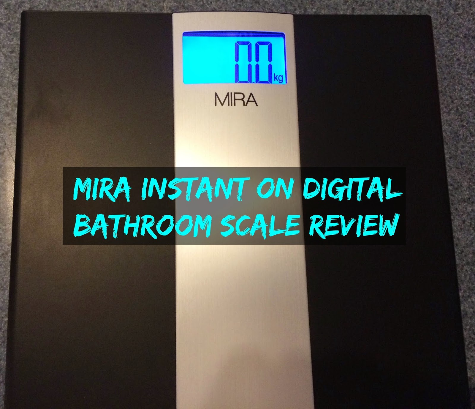 Mira Instant On Digital Bathroom Scale