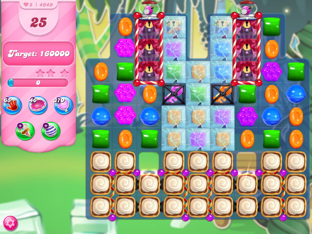 Candy Crush Saga level 4949