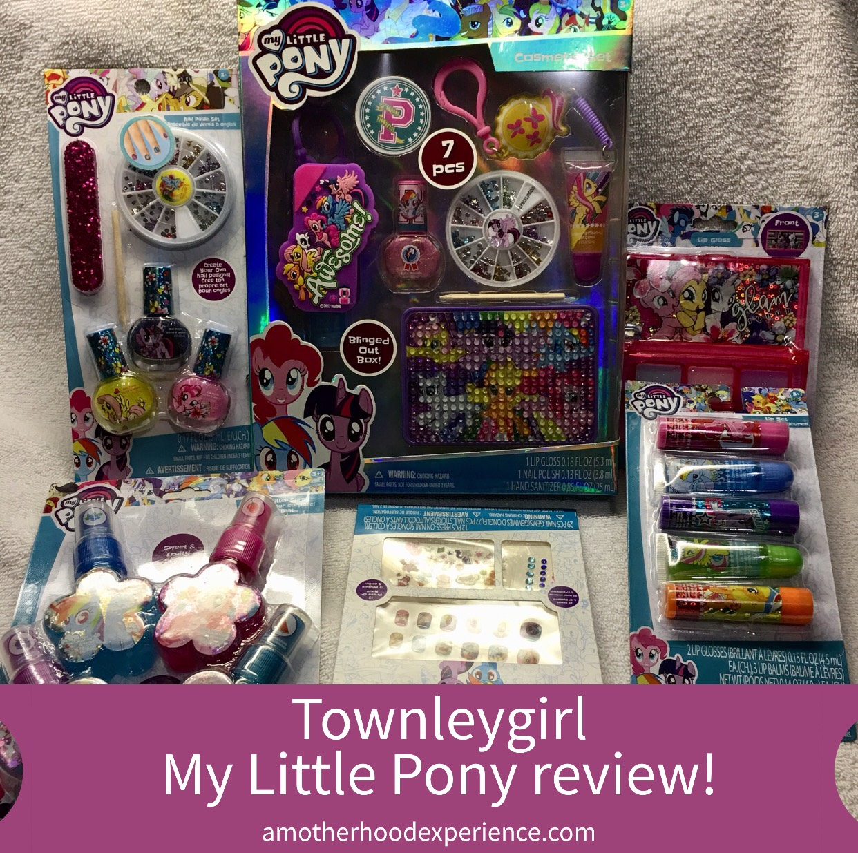 Townleygirl - My Little Pony Kids Cosmetic Kits Review! ~ A