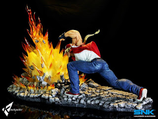 Terry Bogard Power Geyser 1/4 de King of Fighters -  Kinetiquettes