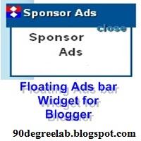 Floating-ads-bar-widget-bloggerlab