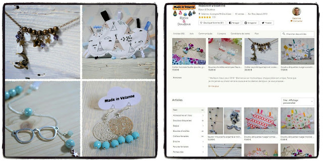 ma boutique en ligne de bijoux et doudous