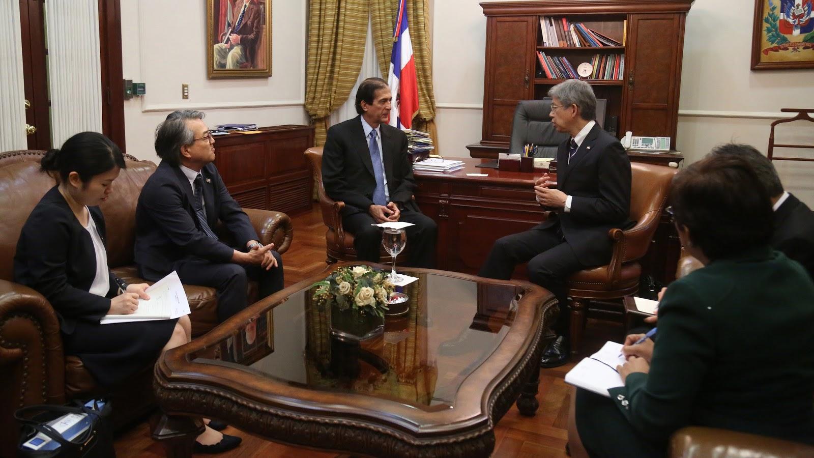 Gobierno japonés reitera apoyo a gestión del presidente Danilo Medina