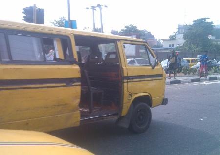bus conductor falls speeding bus ikeja lagos