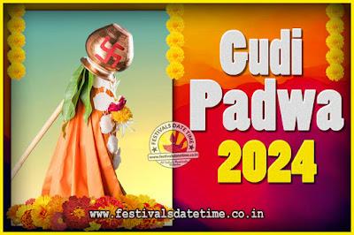 2024 Gudi Padwa Pooja Date & Time, 2024 Gudi Padwa Calendar
