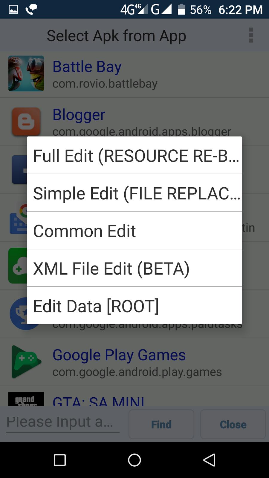 google play hack apk no root