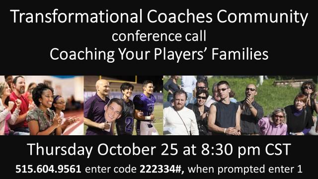 October 25 Conference Call