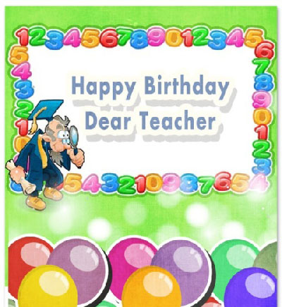 Birthday Wishes | Quotes | Messages and Images for Science, Physics and Math Teacher