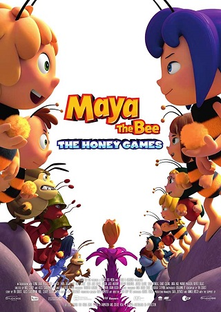 Maya the Bee 2 The Honey Games 2018 English 250MB BRRip 480p