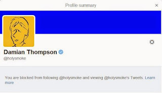blocked by Thompson