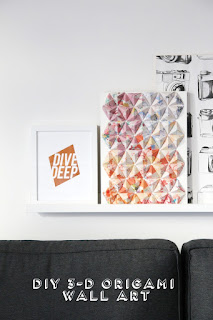 Diy 3-D Origami Wall Art