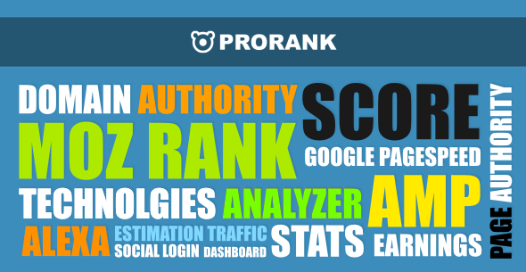 Script ProRank v1.0.5 - Analyzer stats website Nulled
