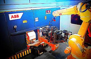 ABB Kaynak Robotu