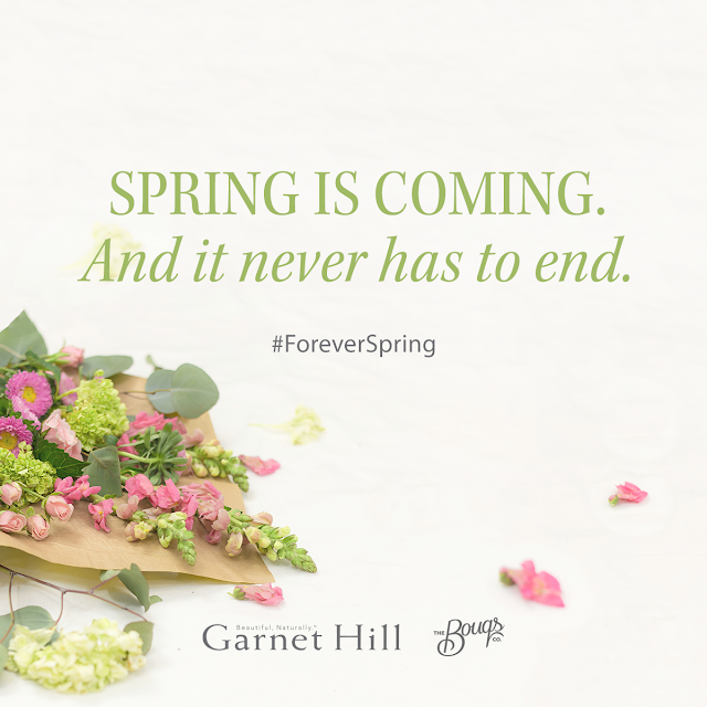 garnet hill the bouqs collaboration foreverspring