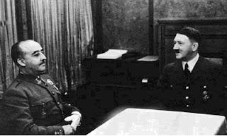 Resultado de imagen de La entrevista de Hendaya entre Franco y Hitler, blogspot
