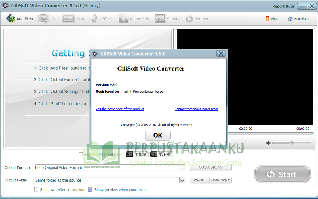 Gilisoft Video Konverter voller Crack