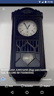 Dijual Jam Antik Junghans