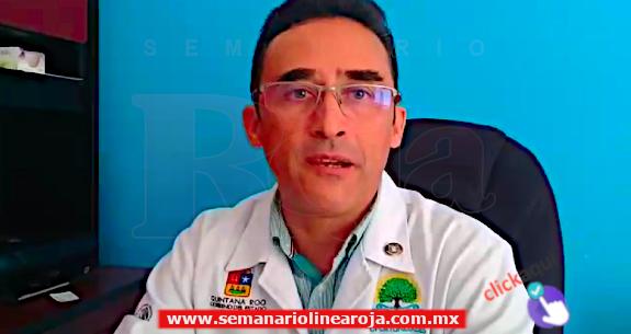 Hombre se corta el escroto y enloquece en el Hospital General de Playa del Carmen...