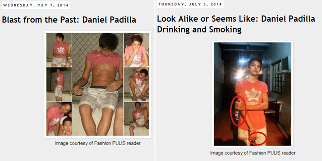 Daniel Padilla Viral Controvertial Photos Holding Beer and Cigarette