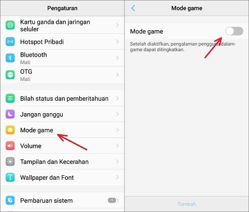 Cara Mengaktifkan Fitur Gaming Mode di Smartphone Vivo