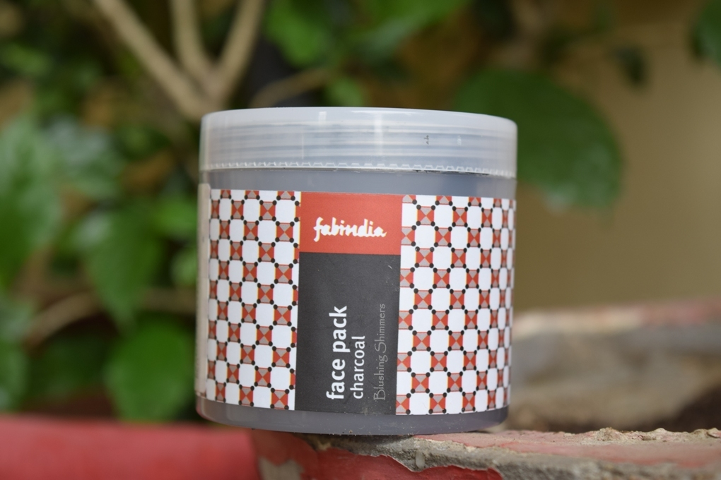 Fabindia Face Pack Charcoal