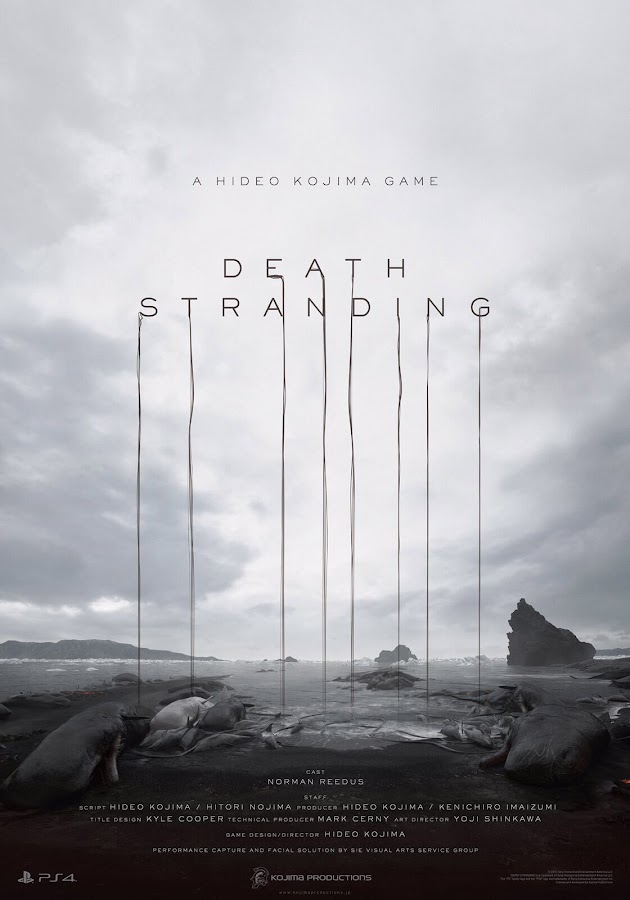death stranding ps4 poster