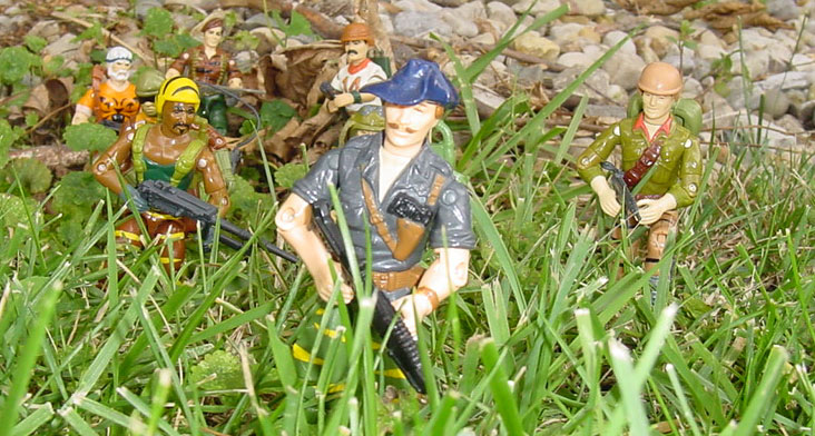 1988 Tiger Force Recondo, Roadblock, Tripwire, Dusty, Bazooka, Duke, Flint, Outback, European Exclusive