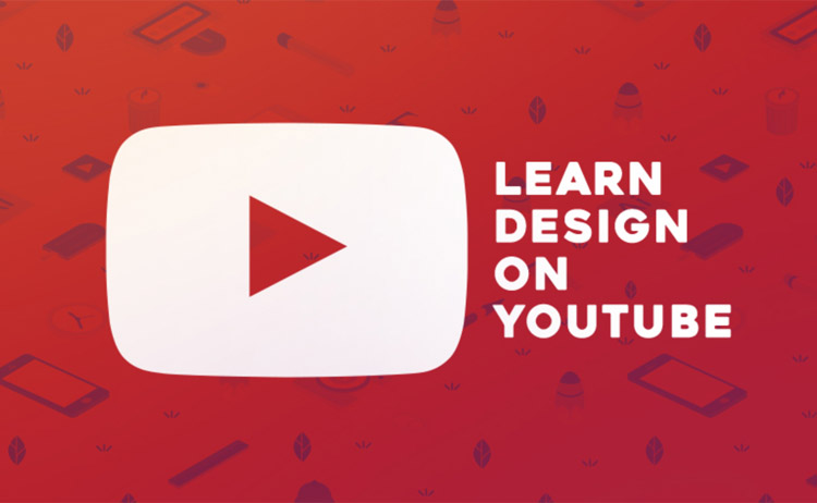 Belajar design di Youtube
