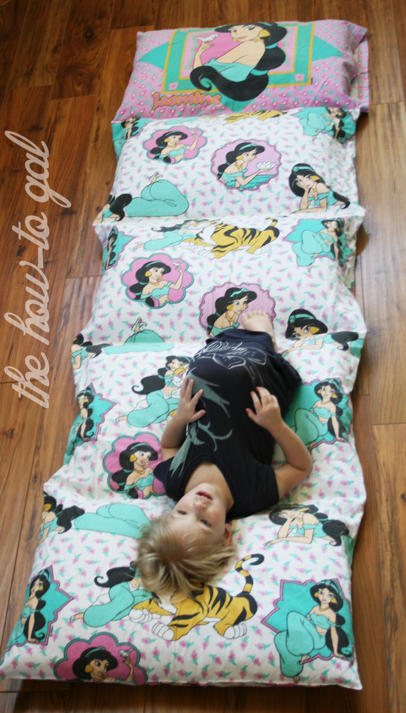 The How To Gal I Did It Series Pillow Pad From Twin Sheet