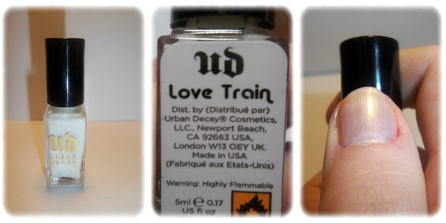 Swatch Vernis à Ongles Teinte Love Train - Urban Decay