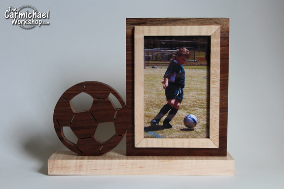 Soccer Picture Frame by The Carmichael Workshop