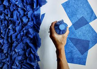 Kağıttan Çiçeklerle Duvar Süsleme - Resimli Anlatım
