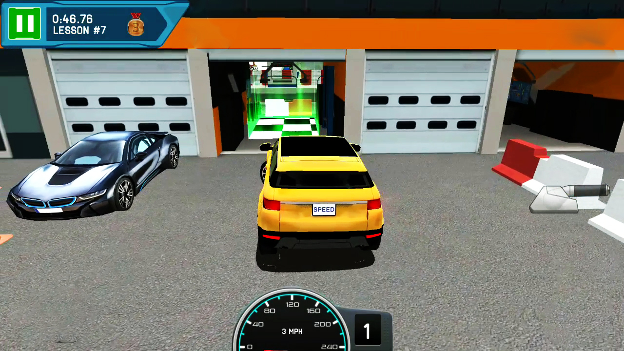 driving school test car racing free android game badbossgameplay. Black Bedroom Furniture Sets. Home Design Ideas