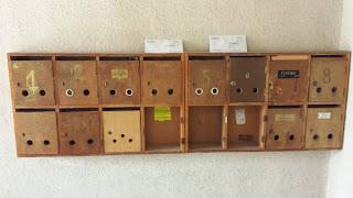 Post Boxes, Yambol, Apartment Block,