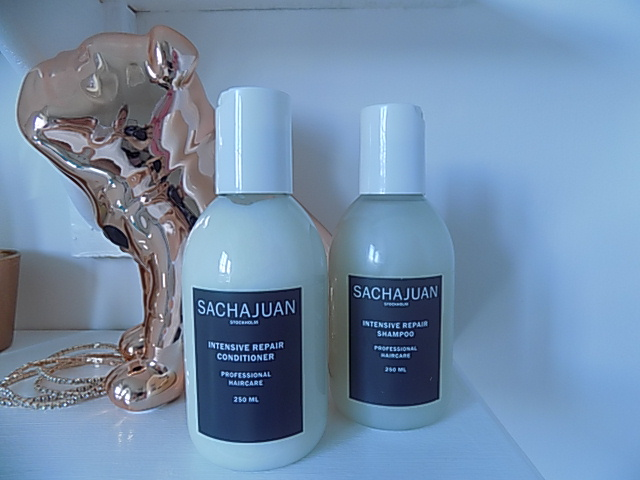 Sachajuan Intensive Repair Shampoo | Conditioner | Straight and Shine Spray