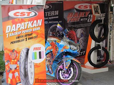 Di Jakarta Bikers Meet 2016, CST bagi Diskon + Hadiah ke pengunjung!