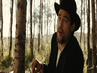 Brad Pitt as Jesse James, The Assassination of Jesse James by the Coward Robert Ford, Directed by andrew dominik