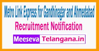 Gandhinagar and Ahmedabad Recruitment Notification 2017 Last Date 20-07-2017