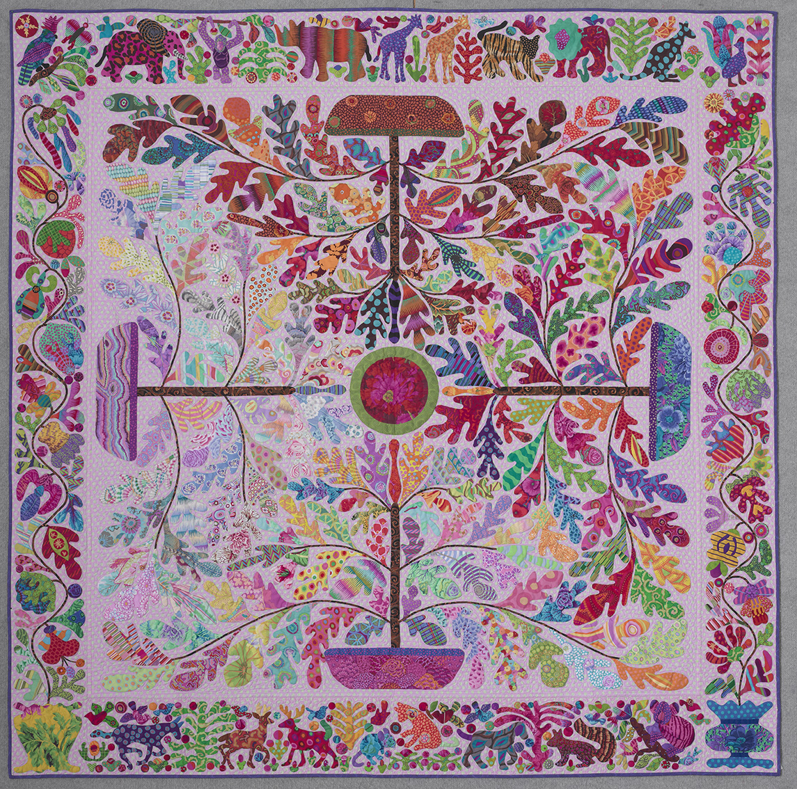 Kim Mclean Quilt Patterns.Glorious Applique Trees Of The Four Seasons 1