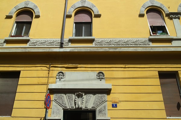 italie trieste liberty via pauliana