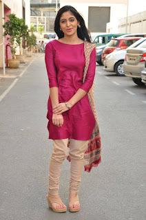 Zahida Sam Pictures in Salwar Kameez at Padesaave Movie Team Interview ~ Celebs Next