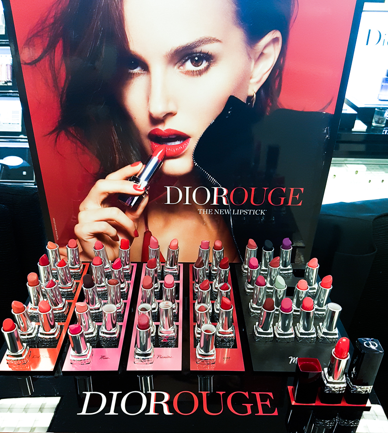 New Rouge Dior Lipsticks 2016 - Swatches