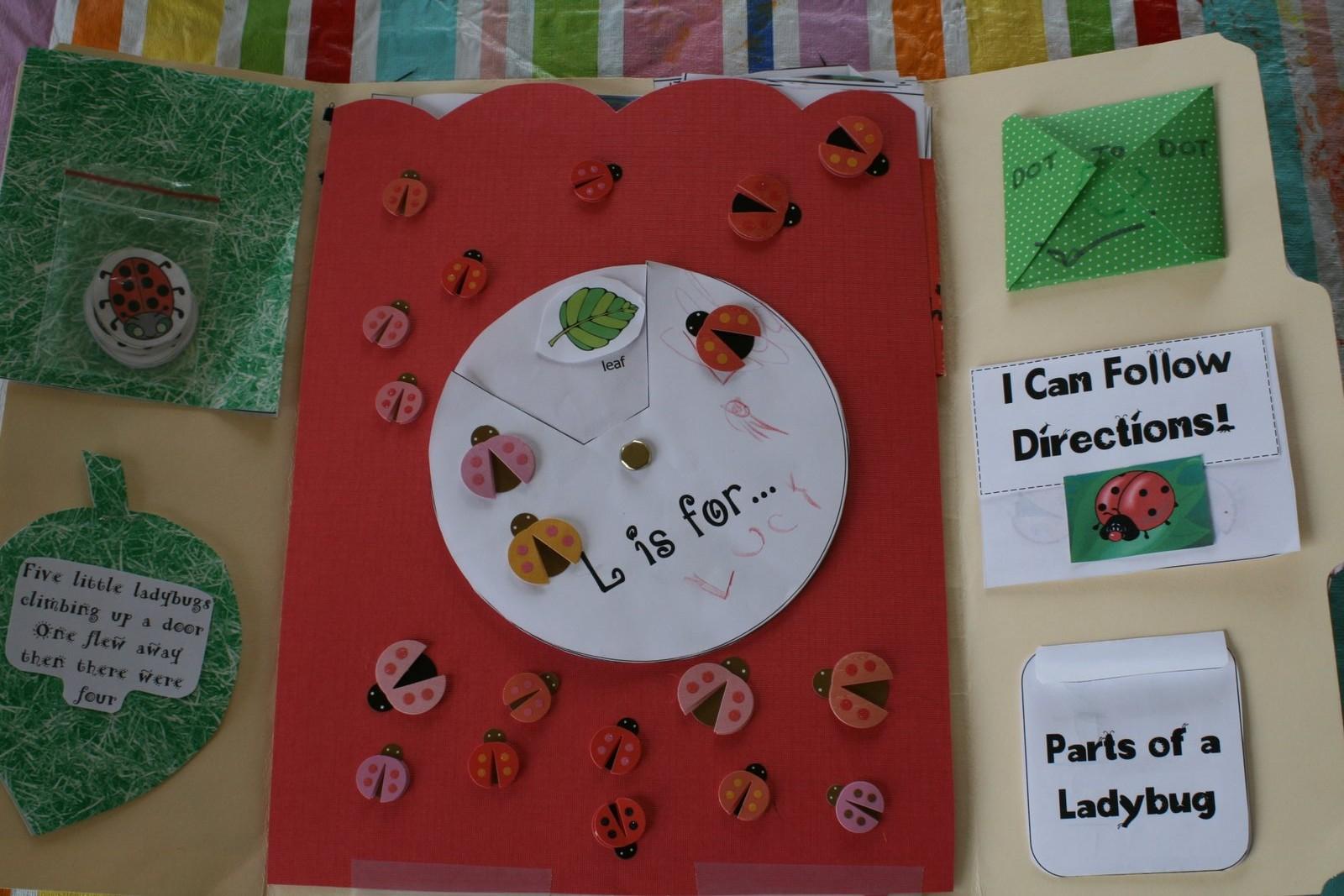 No One Here Thinks I M Funny Ladybug Lapbook