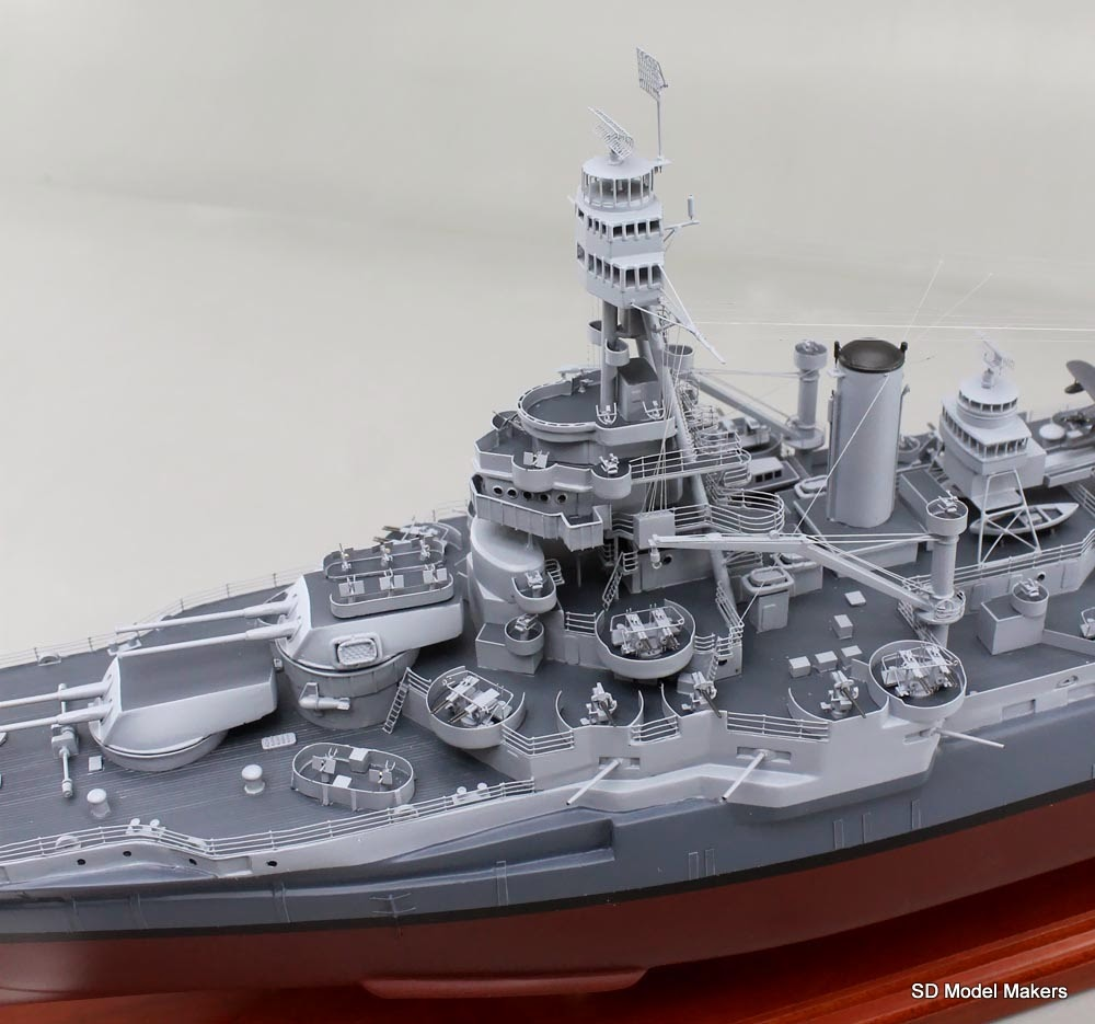 sd model makers recently completed 35 battleship model. Black Bedroom Furniture Sets. Home Design Ideas