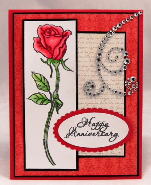Stamping & Scrapping In California: Happy Anniversary